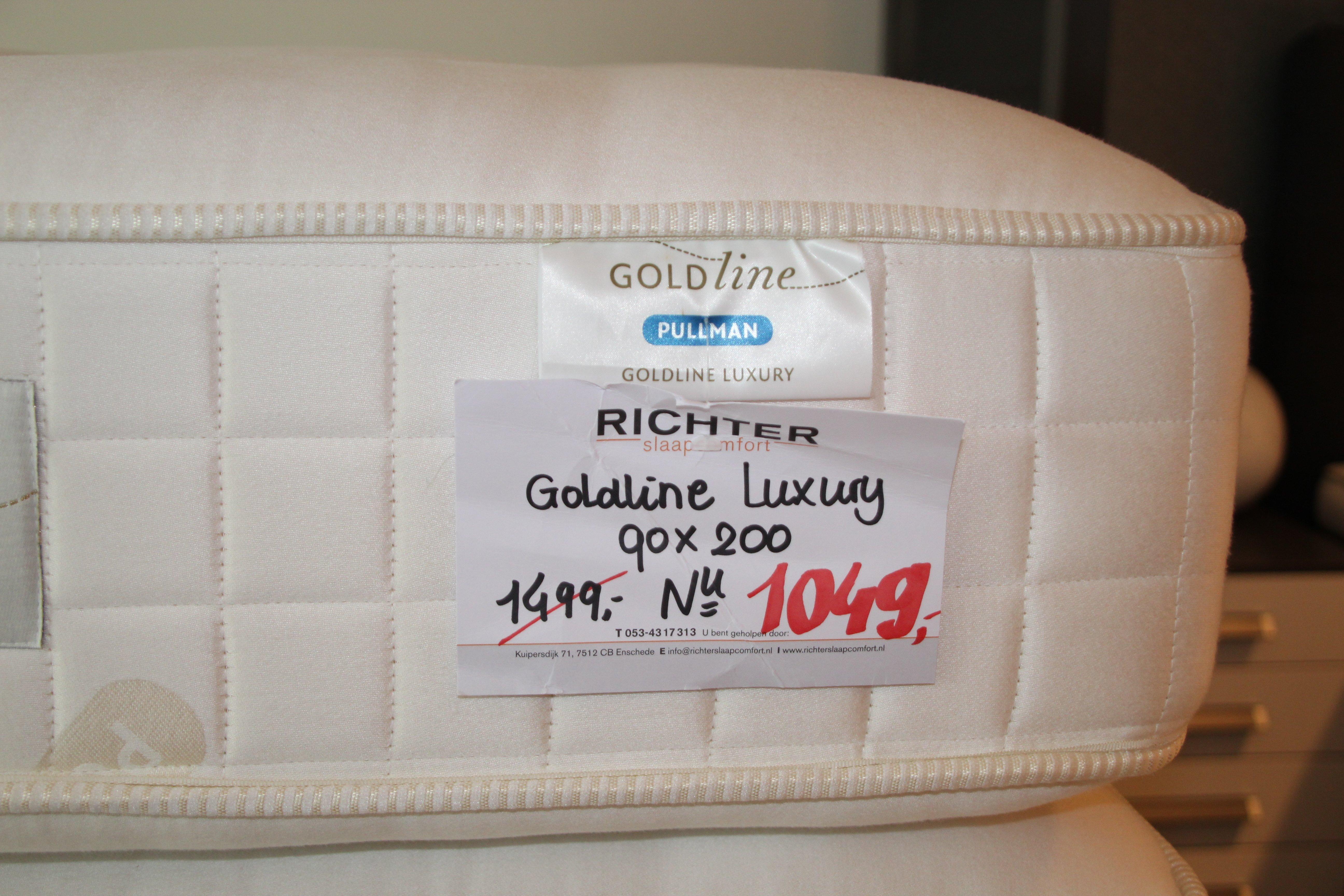 Pullman Matras Outlet : Matras pullman goldline luxury richter slaapcomfort
